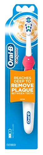 Oral-B Toothbrush Complete Remove Plaque (Battery) (2 Pack)