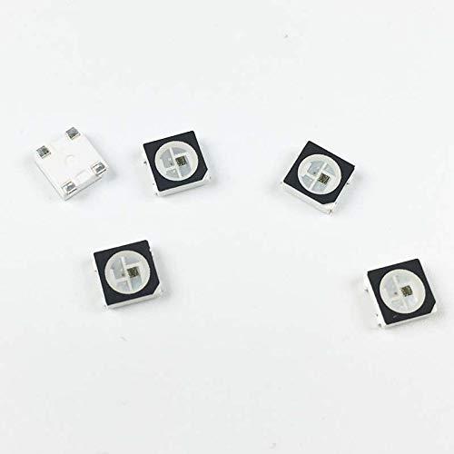 watch 57e50 0e27f Nagulagu 100pc WS2812B WS2812 IC in LED Chip SMD 5050 RGB ...