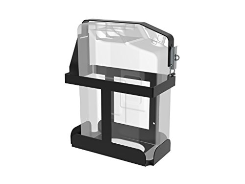 Vertical Jerry Can Holder Black All Steel Universal Mount - by Front Runner by Front Runner