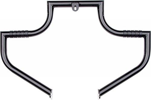 LINDBY BL1710 Magnumbar Black Front Highway Bar (Magnumbar 00-16 Flst Softail Models) (Lindby Highway Bars)