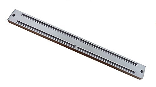 Kitchen Vibe Magnetic Knife Strip, Stainless Steel Bar, 13.5 Inch Tool Holder.