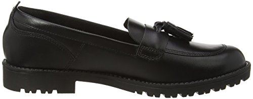 Kickers Noir Lachly Fille Youth Mocassins Black pwPxpOqr