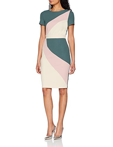 Colour Paper Vestido Dress Para 001 Block Mujer Dolls Multicolor multicolour 55rxHf1qwW