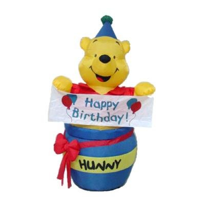 WINNIE THE POOH 4 FOOT TALL INFLATABLE NEW by DISNEY