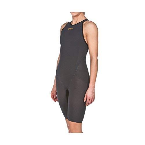(Arena Powerskin Carbon Flex VX Swim Suit - Closed Back, Dark Grey/Black, 24)