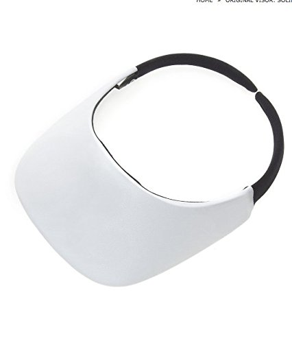 No Headache Original Visor White