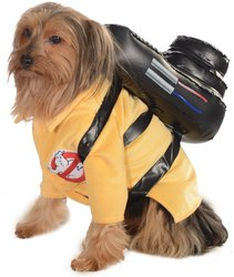 Pet Costume: Ghostbusters- (Ghostbusters Dog Costume)