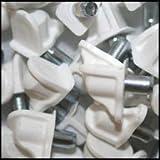 WIDGETCO 5mm White Shelf Pins(QTY 5,000)