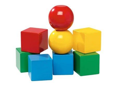 Brio Magnectic Wood Blocks, 8-Part, Building Block, Wooden Bricks, Toys, 30123 - Ravensburger Block