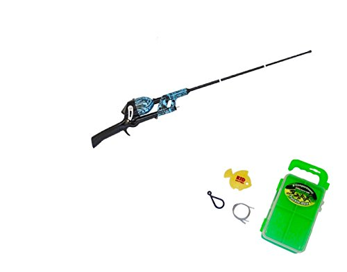 Teenage Mutant Ninja TurtlesTelescopic No Tangle Fishing Rod/Reed Combo, BLUE with Tackle Box, Safety Hook Review