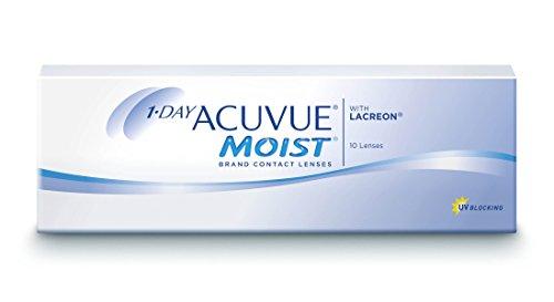 Acuvue 1-Day Moist Tageslinsen weich, 10 Stück / BC 8.5 mm / DIA 14.20 / -3.50 Dioptrien