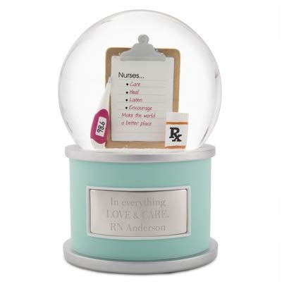 (Things Remembered Personalized Nurse Snow Globe with Engraving Included)