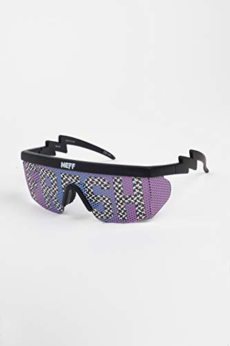 neff Men's Brodie Sunglasses UVA UVB Protective Unisex, fresh/checker, One Size from NEFF