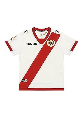 KELME Replica de la Camiseta del Rayo Vallecano 1ª Equipación 17/18 Junior (12