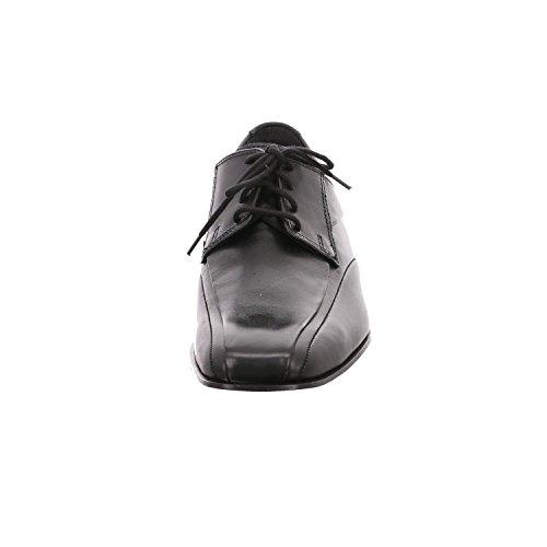 Fretz Men Mens Lace-Up Flats Noir - Noir 8lqKAQ