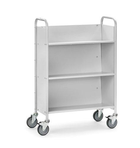 fetra Bürowagen, B855 x T400 mm, 3 Etagen 4017976348919