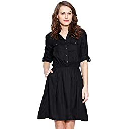 Amayra Women's Knee Length Dress.