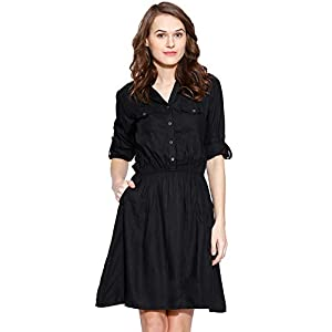 Amayra Women's Knee Length Dress.