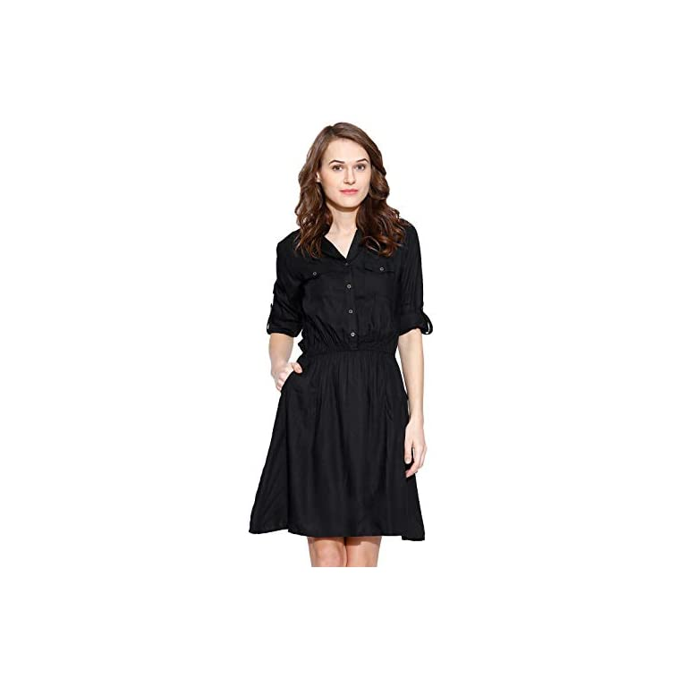 31VQ4VSjuUL. SS768  - Amayra Women's Knee Length Dress.