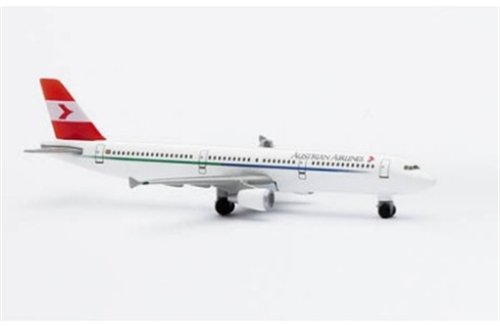 AIRCRAFT MODEL 2513 AUSTRIAN AIRLINES AIRBUS A-321-111