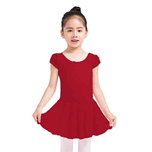 Dancina Flutter Sleeve Skirted Leotard for Girls