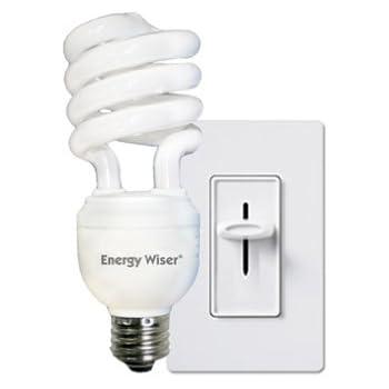 Bulbrite CF23C/WW/DM 23Watt Dimmable Compact Fluorescent Coil Bulb, Warm White