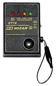 (Mizar Et18 RS Electronic Gold Tester by)