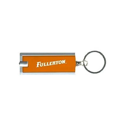 Cal State Fullerton Turbo Orange Flashlight Key Holder Fullerton