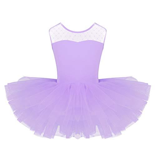 YiZYiF Baby Girl's Ballet Outfits Leotard Tutu Dancewear Party Dress (10-12(Shoulder to Crotch 22.5