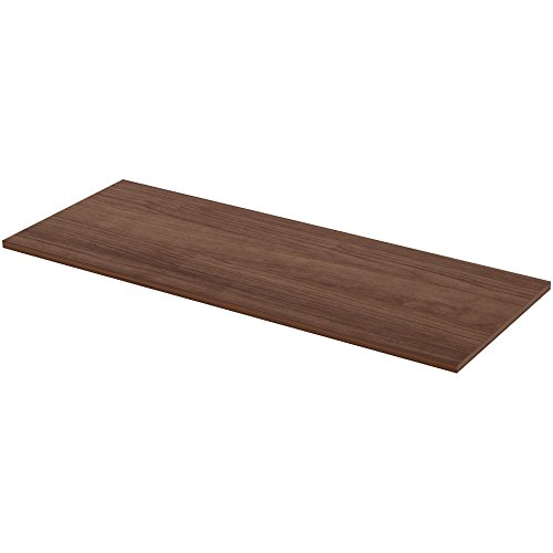Lorell 59635 Height ADJ Standard Tabletop, 24''x60'', Walnut by Lorell