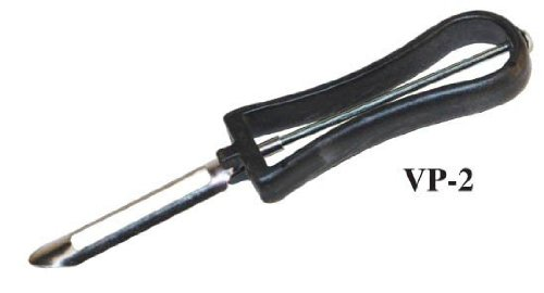 Winco Vegetable Peeler with Plastic Handle, 7.5 inch Length - 12 per case.