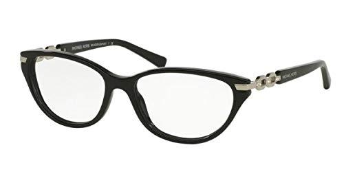 Price comparison product image Michael Kors ZERMATT F MK4020BF Eyeglass Frames 3005-54 - Black MK4020BF-3005-54