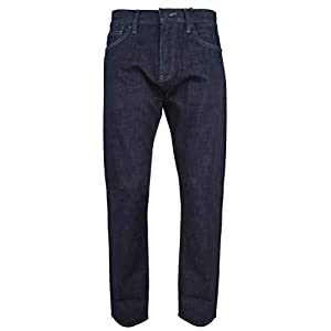 A|X Armani Exchange Men's Straight Fit Denim Jeans