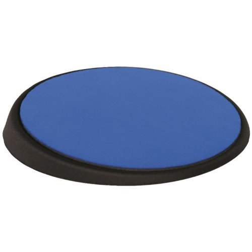 Allsop 26226 The Wrist Aid Circular Mouse Pad (26226) Color: Cobalt Office Supply Product