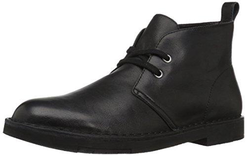 206 Collective Mens Pine Chukka Boot Black Leather