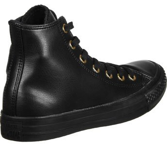 Noir Black Hi Mode Star gold Baskets Converse Femme All xqw6A6T1