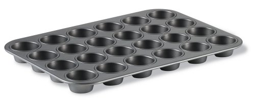 Calphalon (BW5024) Classic Bakeware 24-Cup Nonstick Mini Muffin - Pan Muffin Bakeware Classic