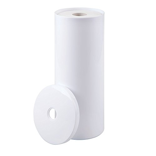 Free Standing Toilet Paper Roll Storage Canister U2022 MDesign