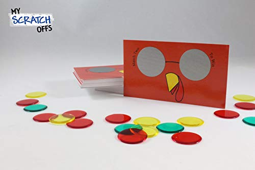 Thanksgiving Cool Turkey Scratch Off Game Card - 25 pack - My Scratch Offs