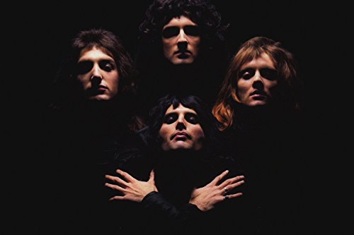 Queen Classic Rock Band Poster 24x36