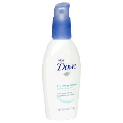 Dove Weightless Moisturizers Fly-Away Tamer, Fine/Thin Hair, 4 Ounce (113 g)