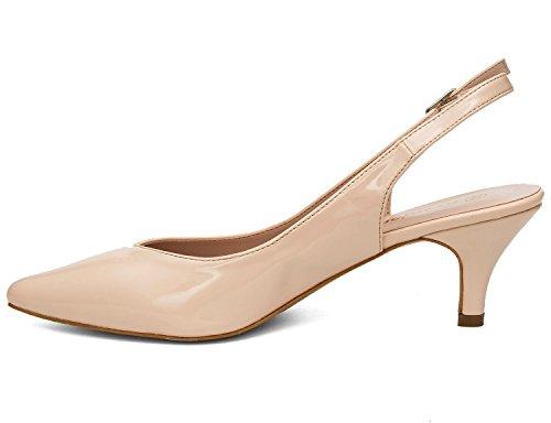 Les Classics Avec Boucles Sur Le Femmes 41 Dos Des Sangles Talon 36 Eu Espigones V Chaussures Greatonu Nude Pour À Et b6gvyYf7