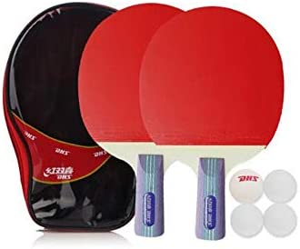 HENG Un par de Bates de Tenis de Mesa, 2 / Bolsa, Raqueta y ...