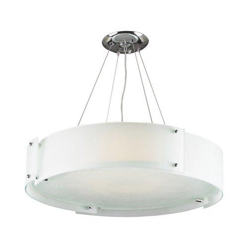 PLC Lighting 7289 PC 6-Light Chandelier Logan Collection, 28