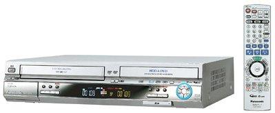 パナソニック 200GB DVDレコーダー VHSビデオ一体型 DIGA DMR-EH70V-S B0007YT8YS