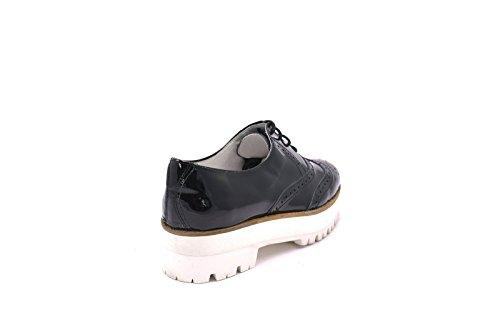 Conbuenpie by DBuzz - Calzado plataforma y cordones mujer color charol Negro (EU38)