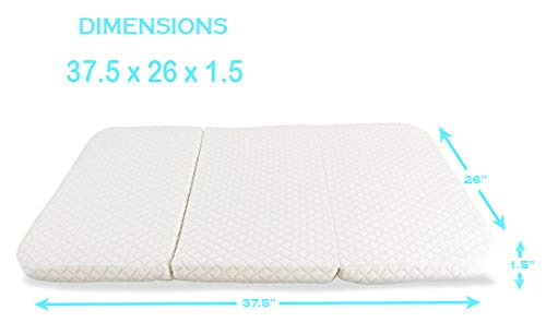 NapYou Amazon Exclusive Pack n Play Mattress, Convenient Fold with Bonus Easy Handle Carry Bag by NapYou (Image #4)