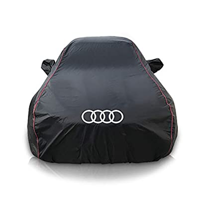 XXchin Car Cover Ford Waterproof Summer Car Cover UV Protection Car Clothes Fit Ford Mustang, F150, Focus, Ranger,Mondeo-Focus Sedan -Taurus,Explorer