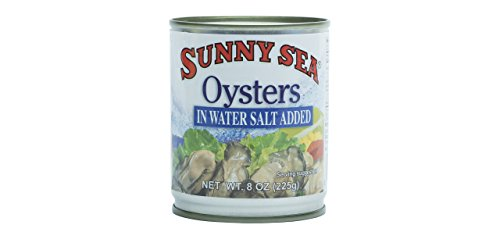 Sunny Sea Boiled Oysters, 8 Ounce (Pack of 12) (Oysters Boiled)