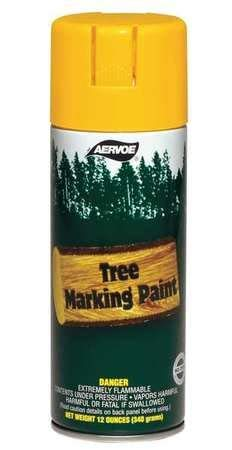 Tree Marking Paint, Fl. Yellow, 16 oz.